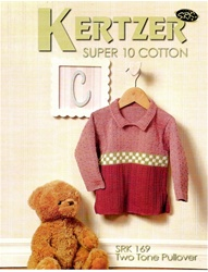Kids Two Tone Pullover Cotton Sweater