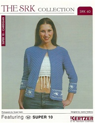 Cardigan & Fringed Crop-Top