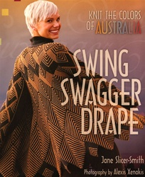 Swing Swagger Drape, Knit the Colors of Australia, by Jane Slicer-Smith