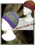 Spiral Cable Hat