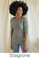 Stagione casual pullover for Wool Pop