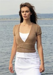 Wrap Cardigan by Vadis Designs