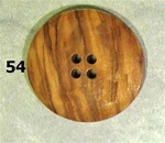 Button Large Wood size 54