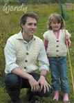 Family Aran Vests