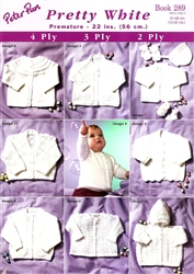 "Peter Pan Baby Collection ""Pretty White"""