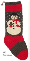 Christmas Stocking Kits by Briggs & Little Woolen Mills