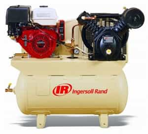 Ingersoll Rand 2475F13GH Honda Engine 13HP Gas Drive 2-Stage Air Compressor