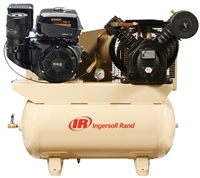 Ingersoll Rand 2475F14G Kohler Engine 14 HP Gas Drive Portable  Air Compressor