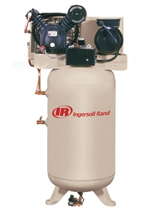 Ingersoll Rand 2475N7.5-V 2-Stage Cast Iron 80G Vertical 7.5 HP Air Compressor
