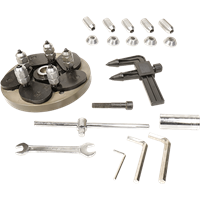 Ranger 5150020 Universal Lug Bolt Flange Kit with Caliper