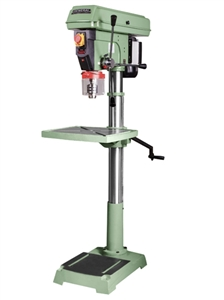 "General International 75-510 M1 20"" Floor Commercial Mechanical Variable Speed Drill Press"