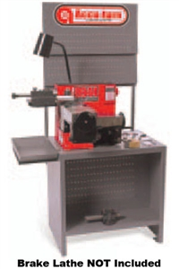 Accu-Turn® 8939 Brake Lathe Bench with Back Board
