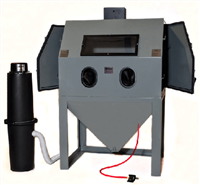 Cyclone Manufacturing A4800 Abrasive Media Sandblasting Cabinet w/Dust Collector