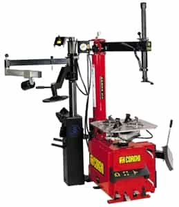 Corghi A9824TI Swing Arm Tire Changer  - Air or Elec w/PU1500 Pneumatic Power Unit