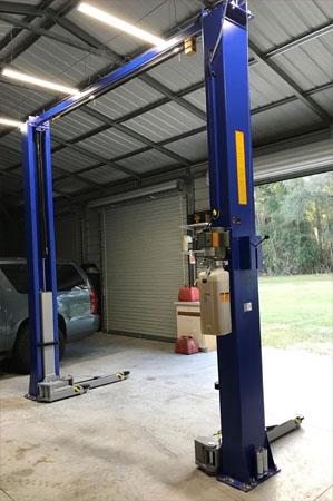 Auto Lift Tp11kc Dx 11k Lb Clear Floor Direct Drive Bi Symmetric