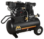 Mi-T-M AM1-PH65-20M 20-Gallon Single Stage Gas Air Compressor