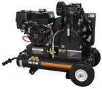 Mi-T-M AM2-PH09-08M 8-Gallon Two Stage Gas Air Compressor