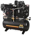 Mi-T-M AM2-PH09-20M 20-Gallon Two Stage Gas Air Compressor