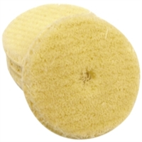 "Astro Pneumatic 3"" Wool Buffing Pad for AST1240T and 1261T (5 Pack) AST20303P"