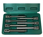 ATD Tools 7 Piece Extra Long Sae Hex Bit Socket Set ATD-13786