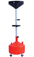 ATD Tools 5180A 8-Gallon Plastic Waste Oil Drain with Casters ATD-5180A