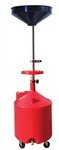 ATD Tools 5188A 18 Gallon Plastic Waste Oil Drain w/Casters - ATD-5188A