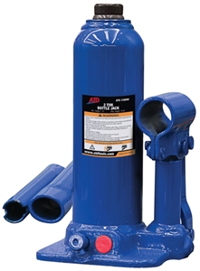ATD Tools 7380W 2-Ton Heavy-Duty Hydraulic Side Pump Bottle Jack - ATD-7380W