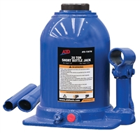 ATD Tools 7387W 20-Ton Shorty Heavy-Duty Hydraulic Side Pump Bottle Jack - ATD-7387W
