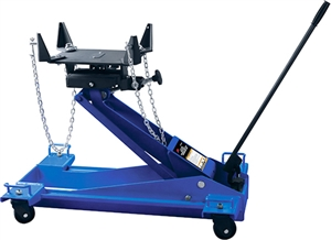 ATD Tools 7437A 1-1/2 Ton Heavy-Duty Hydraulic Floor Style Transmission Jack - ATD-7437A