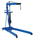 ATD Tools 7485A 2-Ton Heavy-Duty Hydraulic Folding Engine Crane - ATD-7485A