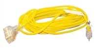 ATD Tools 8008 25 ft. 3-Outlet Power Block Extension Cord - ATD-8008