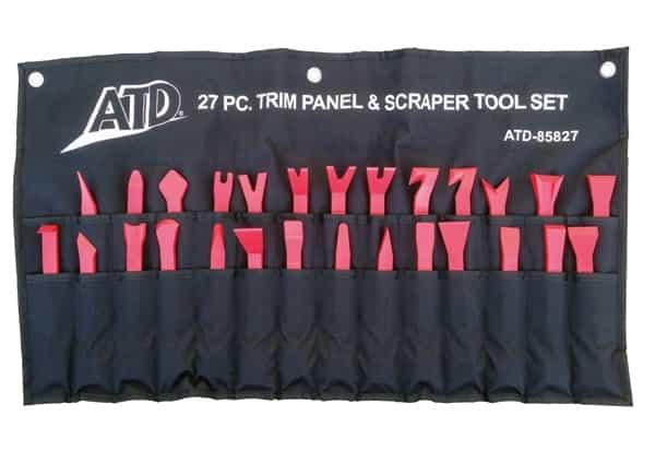 27 Pc  Trim Panel Removal & Scraper Tool Set