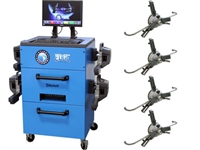 Atlas® Automotive Equipment Edge 601 Pro 8 Camera Alignment Machine w/FastClamps - ATEDGE-601-PRO+3PT