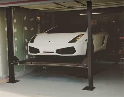 Auto Lift Fp8k Dx Car Park 8 Car Storage Lift 8k Lb 4 Post Parking