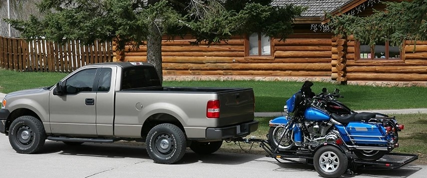 Kendon Bb207 Dual Stand Up Motorcycle Trailer