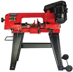 "General International BS5205 4.5"" 5A Metal Cutting Band Saw w/Stand"