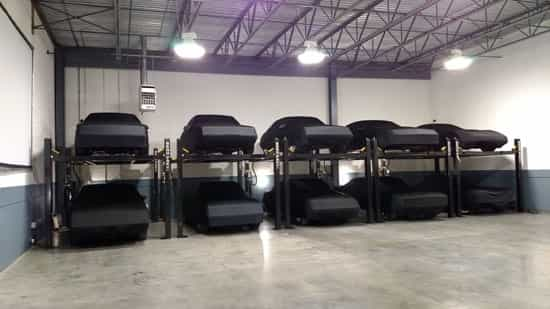 Low Ceiling Garage Car Lift Hbm