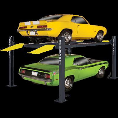 Four Post Lift >> Bendpak Hd 9xl Ex Wide Long 4 Post Car Lift 9000 Lb New Gray