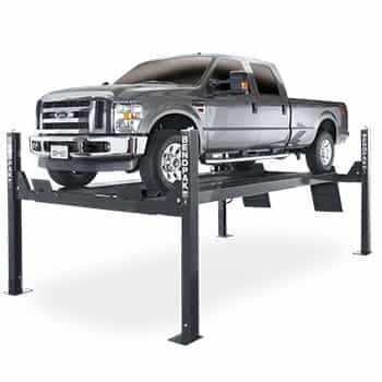 bendpak hds 14x extended length four post car lift 14 000 lb capacity rh bestbuyautoequipment com 2-Post Lift Where Are BendPak Lifts Made
