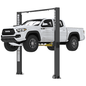 BendPak XPR-10AXLS Asymmetric Adj-Width Ex-Tall 2 Post Lift 10,000 lb. - New Gray