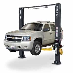 BendPak XPR-10S Clearfloor Two Post Symmetric Car Lift  10,000 lb.
