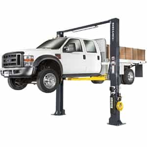 BendPak XPR-12CL-192 12,000 Lb. Extra Tall Clearfloor 2 Post Car Lift - New Gray