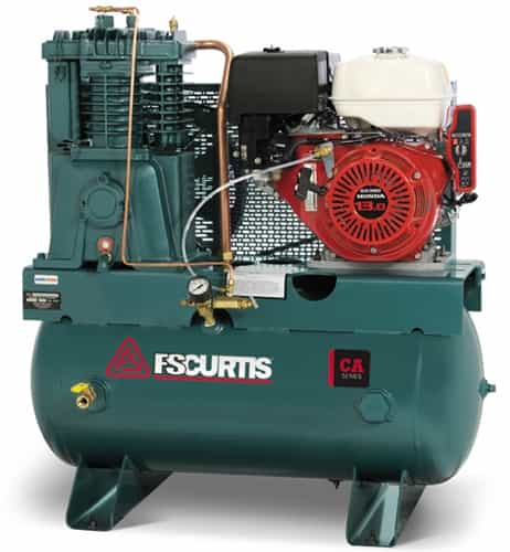 FS-Curtis CA13-H60 13HP 60G Horizontal Honda Gas Drive Air Compressor