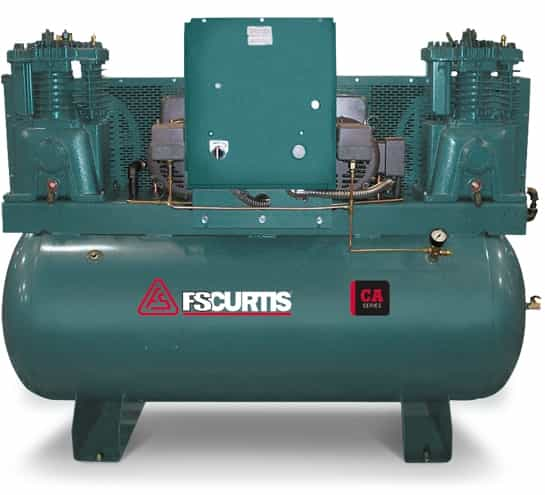 CA7.5 DUP 2?1494493890 fs curtis ca7 5 120 gallon duplex 7 5(2)hp utlra pack air compressor Curtis Air Compressor Dealers at webbmarketing.co