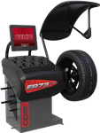 The CEMB ER73TD Video Touchscreen Wheel Balancer