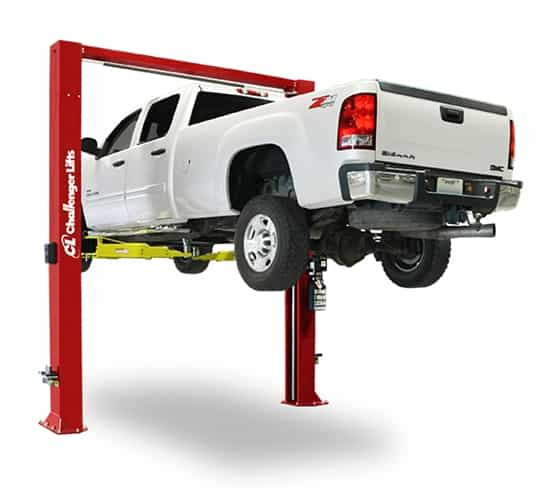 Challenger CL12 ALI Certified Two Post Vehicle Lift W 3 Stage Arms