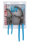 Channellock OF-2 2pc Oil Filter/ PVC Pliers Set - CNL-OF-2