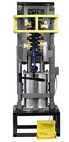 Quality Stainless Products DB-8000-XL Air Operated Strut Compressor w/Stand