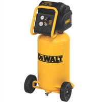 DeWalt D55168 1.6 HP 15 Gallon Oil-Free Wheeled Portable Workshop Air Compressor - DWT-D55168