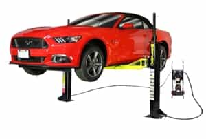 Dannmar MaxJax™ MX-6™ ALI Certified Portable Two Post Car Lifting System 6,000 lb Capacity